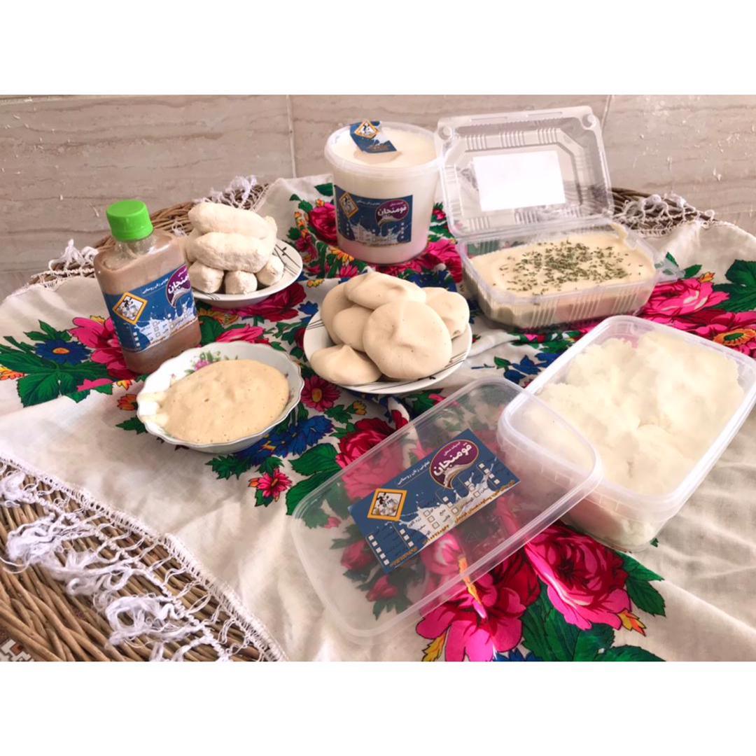 تعاونی لبنیات قومنجان (محصولات گاوی)